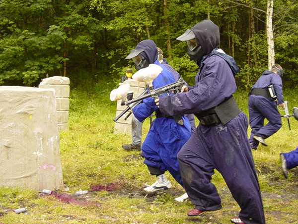 Childrens Paintball Southampton- Salisbury