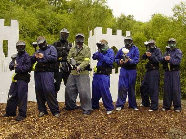 Childrens Paintball Colchester, Essex