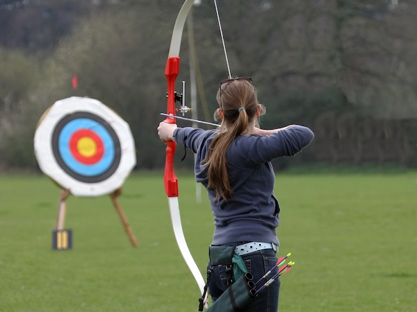 Childrens Archery Sutton At Hone, Kent