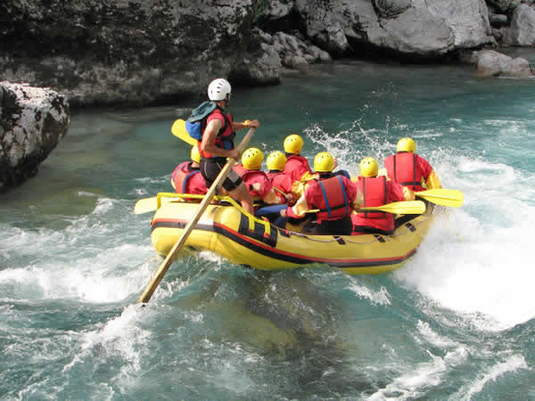 Childrens White Water Rafting Llangollen