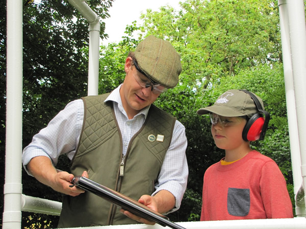 Childrens Clay Pigeon Shooting Plymouth, Devon