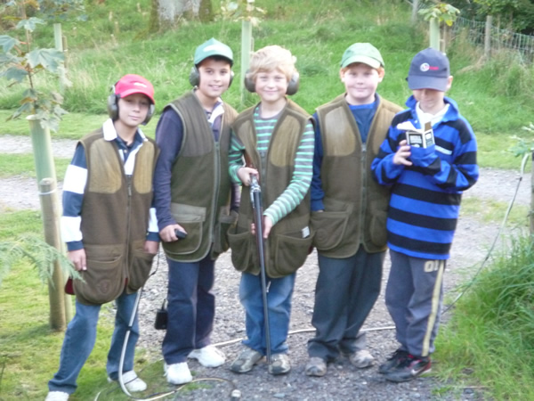 Childrens Clay Pigeon Shooting Hanbury, Worcestershire