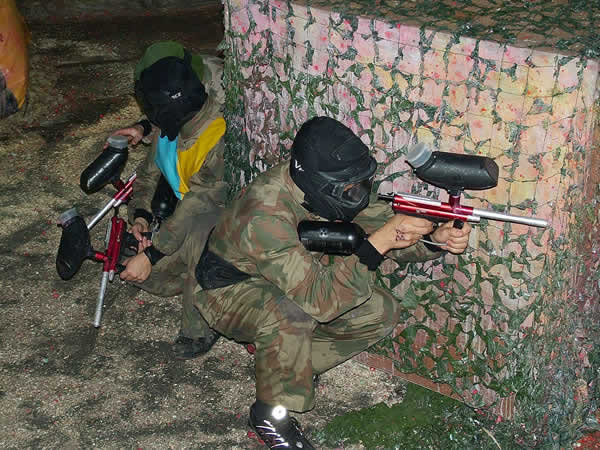 Childrens Indoor Paintball Docklands, Greater London
